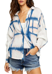 We the Free by Free People Washed Away Plaid Button-Up Shirt