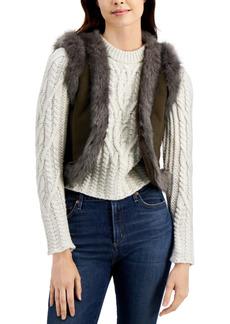 French Connection Afia Faux-Fur Vest