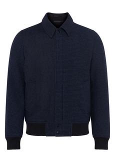 French Connection Herringbone & Houndstooth Shirt Jacket