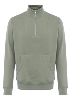French Connection Men's Funnel Neck Quarter Zip Pullover