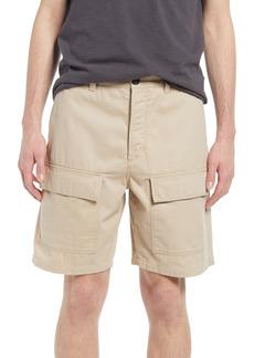 French Connection Men's Herringbone Cargo Shorts
