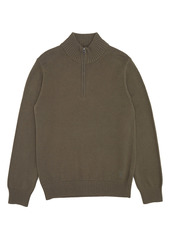 French Connection Mozart Half-Zip Mock Neck Sweater