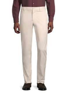 French Connection Low-Rise Cotton-Blend Pants
