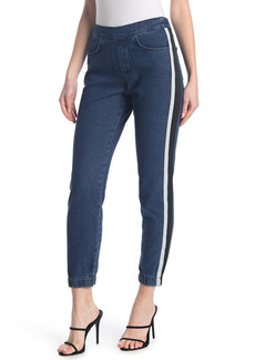 French Connection Theo Denim Track Pants