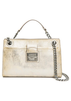 Frye Ella Metallic Leather Convertible Crossbody Bag