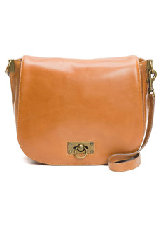 Frye Farrah Leather Saddle Bag
