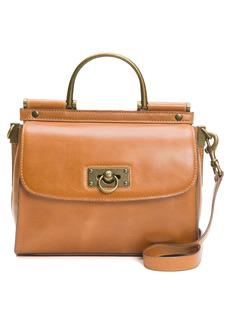 Frye Farrah Leather Top Handle Bag