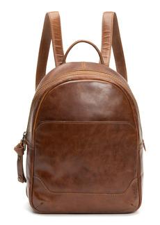 Frye Medium Melissa Calfskin Leather Backpack - Brown