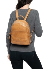 Frye Medium Melissa Calfskin Leather Backpack
