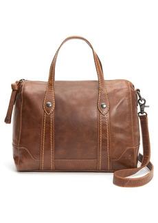 Frye Melissa Double Handle Leather Satchel