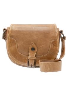 Frye Melissa Leather Saddle Crossbody Bag