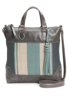 Frye Melissa Stripe Leather Crossbody Bag