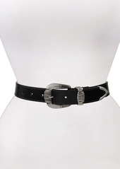Frye Western Leather Belt