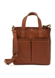 Frye Mindy Leather Mini Tote Crossbody Bag