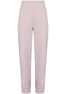 Ganni elasticated waistband track pants