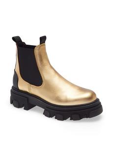 Ganni Metallic Chelsea Boot (Women)