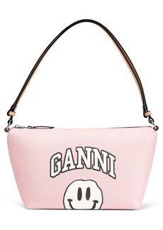 Ganni Mini Smiley Print Shoulder Bag