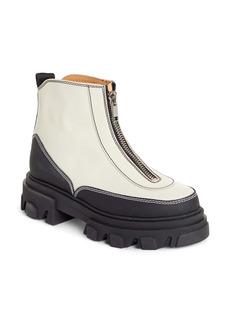 Ganni Polido Lug Sole Boot (Women)