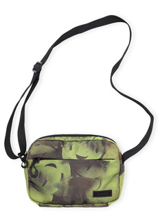 Ganni Recycled Tech Fabric Camera Crossbody Bag