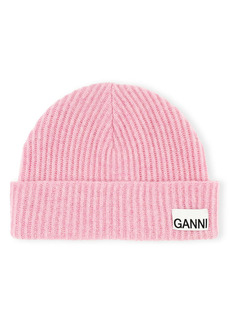 Ganni Recycled Wool Blend Hat