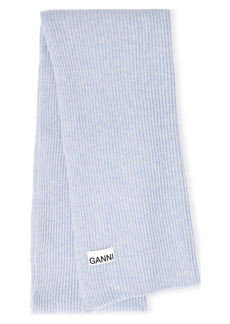 Ganni Recycled Wool Blend Scarf