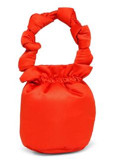 Ganni Satin Knots Bucket Bag