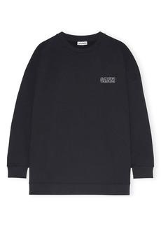 Ganni Women's Software Isoli Organic Cotton Blend Sweatshirt
