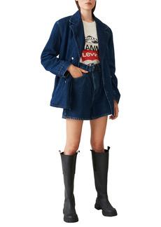 Ganni x Levi's® High Waist Denim Shorts