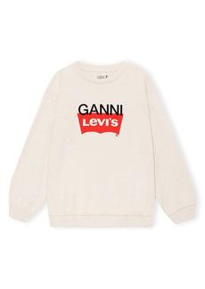 Ganni x Levi's® Logo Graphic Sweatshirt