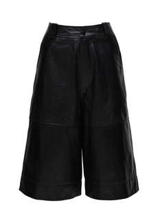 Ganni Leather Culottes