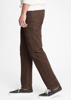 Corduroy Straight Jeans with GapFlex