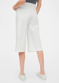 Gap High Rise Culotte Jeans