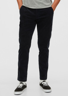 Slim Taper Corduroy Pants with GapFlex