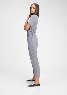 Gap Supersoft Wrap-Front Jumpsuit