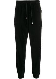 GCDS rhinestone logo track pants