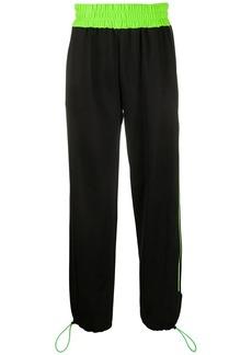 GCDS wide-leg track pants
