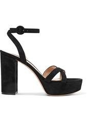 Gianvito Rossi 70 Suede Platform Sandals