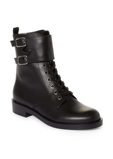 Gianvito Rossi Ankle Cuff Combat Boot (Women)