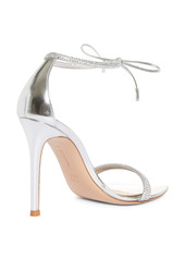 Gianvito Rossi Ankle Wrap Crystal Sandal (Women)