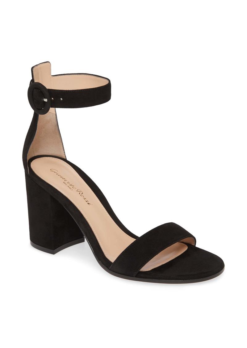 Gianvito Rossi Block Heel Sandal (Women)