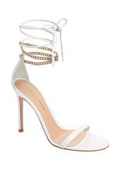 Gianvito Rossi Chain Ankle Wrap Sandal (Women)