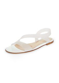 Gianvito Rossi Clear Slingback Sandal (Women)