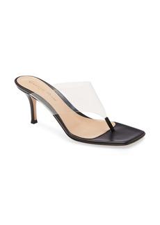 Gianvito Rossi Clear Strap Sandal (Women)