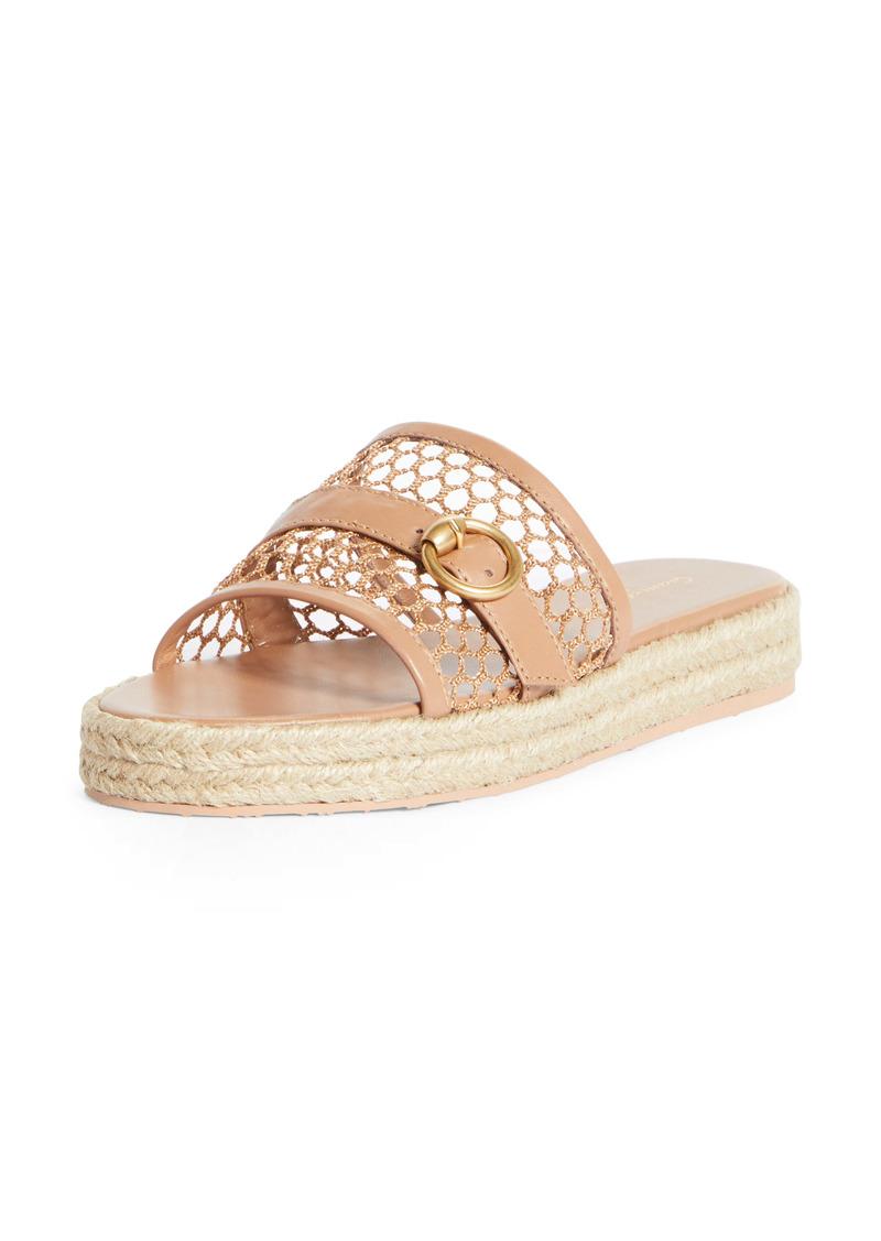 Gianvito Rossi Espadrille Platform Slide Sandal (Women)