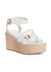 Gianvito Rossi Espadrille Platform Wedge Sandal (Women)