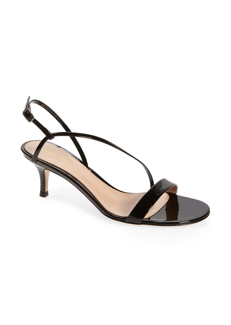 Gianvito Rossi Kitten Heel Slingback Sandal (Women)