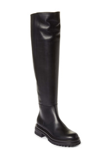 Gianvito Rossi Over the Knee Leather Boot (Women)