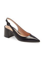 Gianvito Rossi Pointed Toe Slingback Pump (Women)