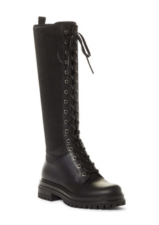 Gianvito Rossi Trek Knee High Lace-Up Boot (Women)