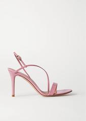 Gianvito Rossi Manhattan 85 Patent-leather Sandals
